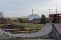 Welcome to Marchwood - home of.....big domes?