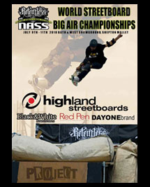The Streetboard Big Air World Championships 2010 at Relentless NASS