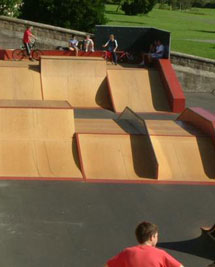 The first ever Welsh Streetboard Demo at Knap Skate Park