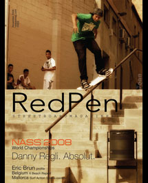 Red Pen Streetboard Magazine - issue 2