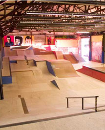 The newly re-vamped Revolution Skate Park in Kent