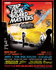 Streetboarding is going to Rip Curl Boardmasters!